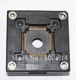 100% NEW QFP64 TQFP64 IC Test Socket (OTQ-64-0.65-08)<br><br>Aliexpress