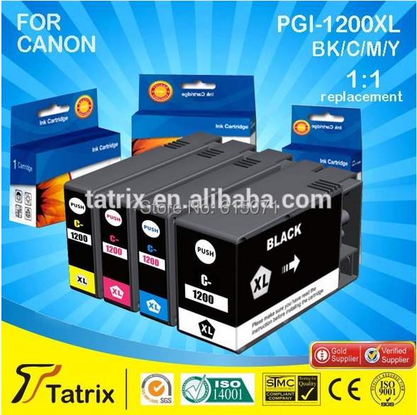Free shipping New Compatible PGI-1200XL with chip use for Canon MAXIFY MB2020/2320 printer with ISO9001, ISO14001, SGS,STMC,CE<br><br>Aliexpress