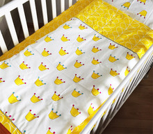3pcs/set Cute Kid Bedding Sets Bed Three-piece Suit Without Comforter Cartoon Crown Tree Fruit Animal Pattern In Stock Hot Sell(China)