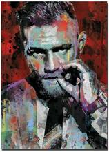 UFC MMA FIGHTING BOXING Art Print Silk Poste Wall 12x18' 24x36' 24x48'(China)