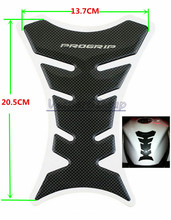 20PCS Motorcycle Carbon Fiber Fuel Tank Pad Decal Protector Stickers Carbon Fiber Fuel GasCap Cover For Honda CBR NSR VTR125 250(China)