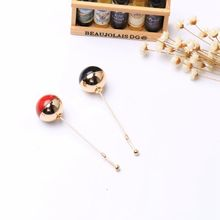 2016 Sale Items Beads Double Colors European Magazine Styles Lady Colorful Brooches Jewelry Gifts Pin Brooch Accessories Br887