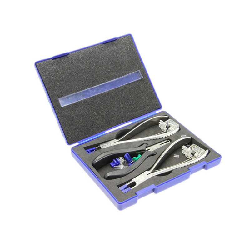 New Optical Eyeglasses Rimless Glasses Machining Disassembly Silhouette Pliers Tool Kit<br>