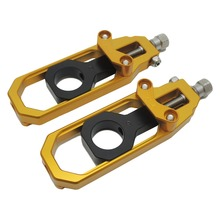 For Honda cbr600rr cbr1000rr Chain Adjusters Tensioners for HONDA CBR600RR 2007-2012 CBR1000RR 2008-2012 after market(China)