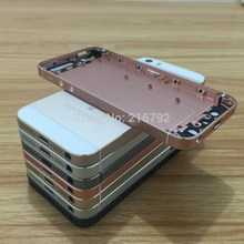 High quality New Metal Middle Battery Back Housing Cover For iPhone 5 5S like SE Free shipping