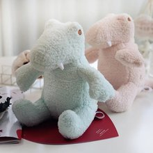 New Arrive 23cm Cute stuffed plush Dinosaur cloth doll Dinosaur plush toys pink blue baby kids toy home decorate Girlfriend Gift