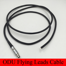 ODU Connector 0F S102 2 3 4 5 6 7 9 Pin Cable Assemble Male Plug Welding Cable Flying Leads Cable