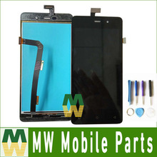1PC /Lot High Quality For Highscreen Power Four  LCD Display+Touch Screen Digitizer Assembly Black Color With Tools