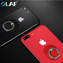 OLAF Universal 360 Degree Finger Ring Holder Fashion Desktop Mobile Phone Holder For iPhone 6 6s 7 8 plus Samsung Xiaomi Huawei(China)