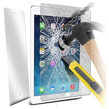 1000pcs 2.5D Tempered Glass Film 9H Anti-scratch Arc Edge LCD Saver Toughened Screen Protector for iPad Mini 2 3 4 Air Pro 9.7
