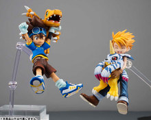 Digital Monster Digimons Adventure YAGAMI TAICHI & AGUMON / ISHIDA YAMATO & GABUMON PVC Action Figure Collection Toy