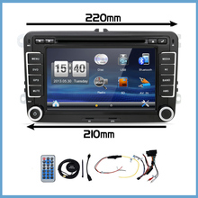 bosion 2 Din Car Dvd Gps for Vw Tiguan Scirocco Touran Car Dvd Gps Headunit Radio Rds A2dp Bt 2din Stereo Cd Vcd Player Parking