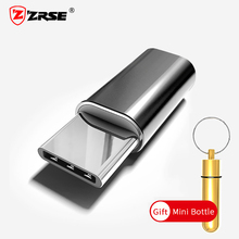 ZRSE Micro USB to Type C Adapter Charging Data Sync Cable Converter Aluminum Male to Female Convert Phone Adapters With Gift(China)