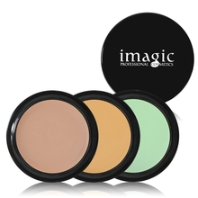IMAGIC Face Concealer Foundation Cream 7 Color Corrector Concealer Makeup Single Color Professional Green Concealer Palette(China)