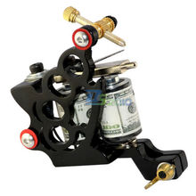10 Wrap Coils High Quality Tattoo Machine Gun Spring Professional Great For Liner Secant Cast Iron Core Supply 95x75x25mm Size