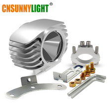 CNSUNNYLIGHT Motorbike LED Headlight 15W 2250Lm Car Plus Fog DRL Light for Scooter/E-bike/Truck/ATV/UTV/SUV/Motorcycle Headlamp