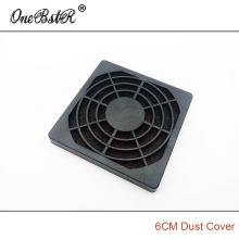 Free shipping 6cm Fan Dust Cover Plastic Dust-Proof Net 60mm Three in One Grille for 6010/6015/6020/6025 Fan DC Fan