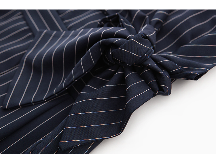Sling Off Shoulder Sleeveless Striped Jumpsuit 2019 New Fashion V-Neck High Waist Nine Points Wide Leg Jumpsuit Summer 34 Online shopping Bangladesh