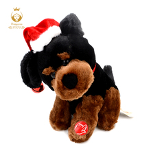 20CM Plush Singing And Dancing Rotating Electronic Pet Dog, Baby Toys, Kids music Toy, Funny Interactive Plush Stuffed Toys(China)
