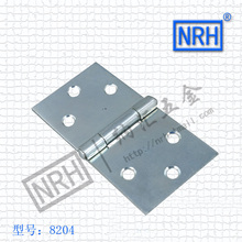 NRH8204-37 blue zinc Strap Hinge GB cold rolled steel Strap Hinge wooden case Strap Hinge High quality factory direct sales(China)