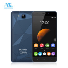 "Oukitel C3 Cellphone Android 6.0 MTK6580 Quad Core Smartphone 1G RAM 8G ROM 5.0"" HD Screen 3G WCDMA Mobile Phone(China)"