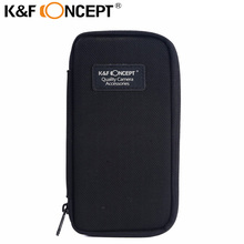 K&F CONCEPT New Lens Filter Wallet Case 6 Pockets Filter Bag for 25mm to 77mm Filters free shipping