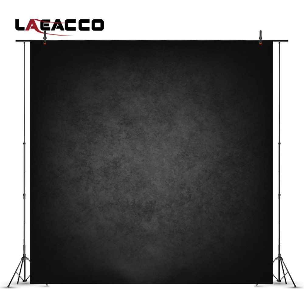 Laeacco Backgrounds Photography Vintage Dark Solid Portrait Newborn Baby Children Digital Photo Backdrops Studio Props