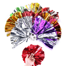 Practical Hot Cheap Cheerleading Cheering Poms Game Pompoms Apply To Sports Match And Vocal Concert Color Can Free Combination