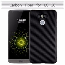 For LG G6 H870 H870K H870S H870V Case 5.7inch Carbon Fiber Soft Book Cover For LG G6 Dual H870DS Phone Bag Case
