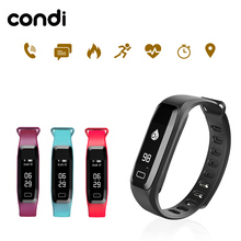 Congdi R6PRO Smart Fitness bracelets Watch Heart rate Blood Pressure Oxygen Oximeter Sport wrist band Watch intelligent Alarm(China)
