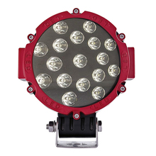 Promotion 7'' 51W 17*3w LED Work Light IP67 For ATV SUV Tractor Offroad Fog Light LED Worklight External Light 12v Factory Price