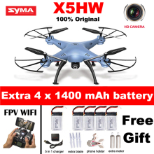 2016 NEW Syma X5HW FPV RC Quadcopter Dron with WIFI Camera 2.4G 6-Axis Upgrade RC Helicopter Toys Pressure High