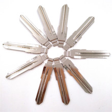10 pcs/lot Metal Blank Uncut Flip KEYDIY KD Remote Key Blade Type #60 for Fiat NO. 60 Blade