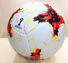 Newest!!!!! 2018 Russia World Cup Confederations Cup Soccer Ball Seamless PU Granules Slip-resistant size 5 Football Wholesale