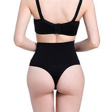 Women High Waist Trainer Tummy Slimming Control Waist Cincher Body Shaper Thong G-string Butt Lifter Seamless Panties(China)