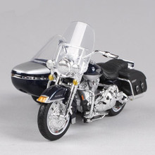 1:18 Maisto Motorcycle Models Diecast & Alloy Harley Motorbike Miniature Simulation Car Toy Motor Toys For Collection Juguetes(China)