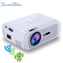 HOT US80 Mini Video Projector Full HD 1080p support Home Theater led TV Beamer mini portable lcd Proyector android wifi optional