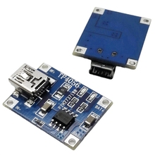 TP4056 1A Lipo Battery Charging Board Charger Module Mini USB Interface For Rc Parts(China)