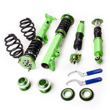 Green Coilovers for BMW 3 Series E36 M3 316 318 320 323 325 328 Coilover Struts Shock Suspension for 316i 318i 320i 323i 325i(China)