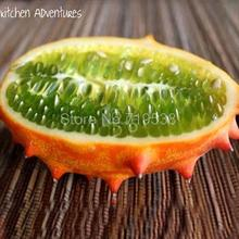 Fire ginseng fruit fruit seed Mars | cucumber fruit | Africa melon seeds | Horned Melon odd melon different fruit seeds 1 seeds