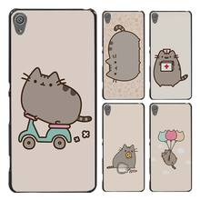 Pusheen The Cat Style Case Cover for Sony Ericsson Xperia X XZ XA XA1 M4 Aqua E4 E5 C4 C5 Z1 Z2 Z3 Z4 Z5