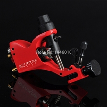 New Bizarre Rotary Tattoo Machine For Shader and Liner With High Quality Red Rotary Tattoo Machine Free Shipping(China)