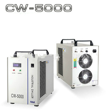 CO2 laser CW5000 water chiller for 80W 100W 130W 150W laser tube 220V/110V