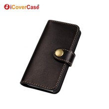 Coque for iPhone 5s Case Genuine Leather Flip Cover Wallet Fundas for iPhone 5 5s SE Authentic Leather Carcasas Etui Capa Hoesje