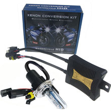 SPEVERT 55W Xenon HID Conversion Kit Motorcycle Motorbike Headlight H4 Hi/Lo Bulb Lamp