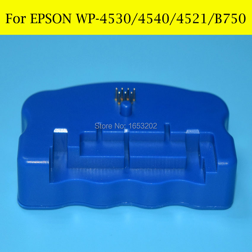 T6710 T6711 Waste Ink/Maintenance Tank Chip Universal Resetter For EPSON WP-4015DN/4025DN/4095DN/4515DN/4525DNF/4535DWF Printer<br>