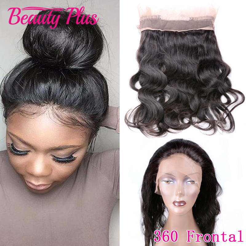 360 Lace Frontal Brazilian Body Wave 100% Virgin Hair 22x4x2 Full Lace Closures With Baby Hair 360 Lace Frontal Bleached Knots<br><br>Aliexpress