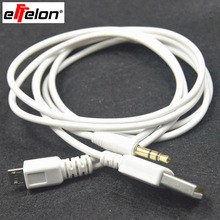 Effelon 3.5MM Micro Aux Audio to Dock USB Charger Data Cable for Samsung Galaxy S4 S3 S2 i9500 i9300 Car Speaker