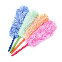 1Pcs High Quality Long Design Ultrafine Bendable Fiber Household Cleaning Tool Car Dust Static Feather Duster(China)