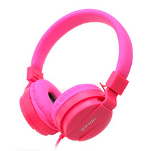 Best gift for children High Quality Stereo Bass Cute Headphones Music Earphones Girl headsets With Microphone for iphone samsung(China)